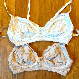Lot of two Hanky Panky Signature Glam Bras